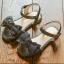 รองเท้าเด็กแฟชั่น สีดำ แพ็ค 5 คู่ ไซต์ 26-27-28-29-30 thumbnail 1