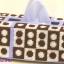 ชุดปักแผ่นเฟรมกล่องทิชชูทรงยาวลายจุด thumbnail 1