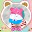 หมวกน้องหมีสีชมพู แพ็ค 3 ชิ้น thumbnail 3