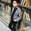 เสื้อสูทเด็กชายสีเทา (เฉพาะเสื้อสูทค่ะ) [size 2y-3y-4y-5y-6y] thumbnail 1