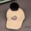 หมวก สีครีม แพ็ค 5ใบ ไซส์ 3-6 ปี รอบศรีษะ 53 ซม thumbnail 1