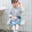ถุงเท้าสั้น คละสี แพ็ค 10คู่ ไซส์ L (อายุประมาณ 6-8 ปี) thumbnail 5