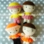 ตุ๊กตาถักไหมพรม คน 5.5 นิ้ว thumbnail 3