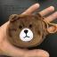 กระเป๋าใส่เหรียญ น่ารัก ขนาดเล็ก ลูกหมีสีน้ำตาล thumbnail 1
