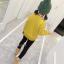 เสื้อ+กางเกง สีเหลือง แพ็ค 5 ชุด ไซส์ 120-130-140-150-160 (เลือกไซส์ได้) thumbnail 5
