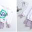 เสื้อ สีขาว แพ็ค 5 ชุด ไซส์ 120-130-140-150-160 (เลือกไซส์ได้) thumbnail 7