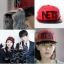 หมวกแฟชั่น Runningman NETS สีแดง thumbnail 1