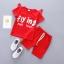 ชุดเซตสีแดง flying มีปีกด้านหลัง แพ็ค 5 ชุด [size 6m-1y-3y] thumbnail 1