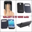 Battery Case S-View Cover for Galaxy S4 4500 mAh thumbnail 1