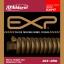 สายกีตาร์โปร่ง D'Addario EXP17 Coated Phosphor, Medium, 13-56 thumbnail 1