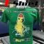 พิมพ์ลายน้องหมาด้วยระบบดิจิตอล ลงบนเสื้อยืดสีเขียว thumbnail 1