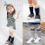 ถุงเท้าสั้น สีเทาเข้ม แพ็ค 10 คู่ ไซส์ M (3-5 ปี) thumbnail 2