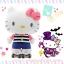 [พร้อมส่ง] Hello Kitty play roller skate plush doll SIZE XL ตุ๊กตาเฮลโหลคิตตี้ยืนเล่นสเก็ตบอร์ด thumbnail 1