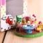 ชุดเซ็ต 5 ชิ้น ตุ๊กตาโมเดลเฮลโหลคิตตี้ Hello Kitty figure model set of Day life thumbnail 2