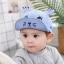 หมวก สีฟ้า แพ็ค 5ใบ ไซส์รอบศรีษะ 48-50cm thumbnail 1