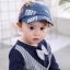 หมวก สีฟ้าอ่อน แพ็ค 5ใบ ไซส์รอบศรีษะ 48cm thumbnail 1