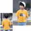 เสื้อ สีเหลือง แพ็ค 5 ชุด ไซส์ 120-130-140-150-160 (เลือกไซส์ได้) thumbnail 4