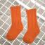 ถุงเท้ายาว สีส้มแพ็ค 12 คู่ ไซส์ L (อายุประมาณ 6-8 ปี) thumbnail 1