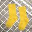 ถุงเท้ายาว สีเหลือง แพ็ค 12 คู่ ไซส์ L (อายุประมาณ 6-8 ปี) thumbnail 1