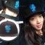 หมวกแฟชั่นเกาหลี เบสบอล Pinocchio ปาร์คชินเฮ (สีดำ น้ำเงิน) thumbnail 1