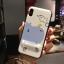 เคส iPhone X พลาสติก TPU สกรีนลายน่ารักมากๆ สามารถดึงกางออกมาตั้งได้ ราคาถูก thumbnail 12