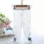 กางเกง ลูกไม้ สีขาว แพ็ค 5ชุด ไซส์ 100-110-120-130-140 thumbnail 1