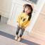 เสื้อ สีเหลือง แพ็ค 5 ชุด ไซส์ 80-90-100-110-120 thumbnail 4