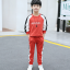เสื้อ+กางเกง สีแดง แพ็ค 5 ชุด ไซส์ 120-130-140-150-160 (เลือกไซส์ได้) thumbnail 1