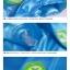 เสื้อกันฝนลายลิงพร้อมซอง (สีฟ้า) [size 6y] thumbnail 4