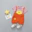 เสื้อ+กางเกง สีส้ม แพ็ค 4 ชุด ไซส์ 80-90-100-110 thumbnail 1
