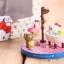 ชุดเซ็ต 5 ชิ้น ตุ๊กตาโมเดลเฮลโหลคิตตี้ Hello Kitty figure model set of Day life thumbnail 4