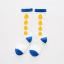 ถุงเท้ายาว สีน้ำเงิน แพ็ค 10 คู่ ไซส์ S (อายุ 1-3 ปี) thumbnail 1