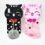Iphone X เคสtpuแมวดำห้อยขนเฟอร์ thumbnail 1