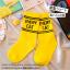 ถุงเท้าสั้น สีเหลือง แพ็ค 12 คู่ ไซส์ S ประมาณ 1-3 ปี thumbnail 5