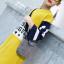 เสื้อยาว สีเหลือง แพ็ค 5 ชุด ไซส์ 120-130-140-150-160 (เลือกไซส์ได้) thumbnail 4