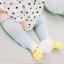 ถุงเท้ายาว สีฟ้า+เหลือง แพ็ค 10 คู่ ไซส์ M (อายุประมาณ 6-12 เดือน) thumbnail 1