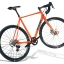Fuji Cross 1.5 Disc Road Bike Orange Grey 2017 thumbnail 1
