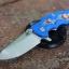 RHK Jurassic Spearpoint Stonewash Blue Gear Theme Blue G10