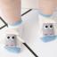 ถุงเท้าสั้น คละแบบ สีฟ้า แพ็ค 12 คู่ ไซส์ S (อายุประมาณ 0-1 ปี) thumbnail 2