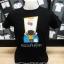 เสื้อดำสกรีนลายคนคีบตุ๊กตา ร้านเรารับสกรีนเสื้อด้วยระบบดิจิตอล thumbnail 1
