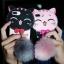 ไอโฟน5/5se/5s เคสtpuแมวดำห้อยขนเฟอร์(ใช้ภาพรุ่นอื่นแทน) thumbnail 1
