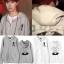 เสื้อฮู้ดซิปหน้า (Hoodie) Mang World แบบ J-Hope thumbnail 1