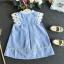 เสื้อ สีฟ้า แพ็ค 5ชุด ไซส์ 100-110-120-130-140 thumbnail 4
