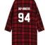 เสื้อคลุมลายสก็อตสีแดง BTS thumbnail 11