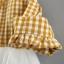 ชุดเดรสแขนยาวลายสก็อตสีเหลืองพร้อมสายสะพาย แพ็ค 4 ชุด [size 6m-1y-18m-2y] thumbnail 7