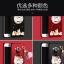 เคส Samsung A8 พลาสติกสกรีนลายการ์ตูนแมวกวักนำโชค Lucky Neko พร้อมที่ตั้งและที่เก็บสายในตัวคุ้มค่ามากๆ ราคาถูก thumbnail 1