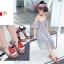 รองเท้าเด็กแฟชั่น สีเขียว แพ็ค 5 คู่ ไซต์ 21-22-23-24-25 thumbnail 7