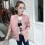 เสื้อแจ็คเก็ตสีชมพู [size 5y-6y-7y-8y-9y-10y] thumbnail 1