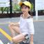 เสื้อ+กางเกง สีขาว แพ็ค 5 ชุด ไซส์ 120-130-140-150-160 (เลือกไซส์ได้) thumbnail 2