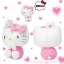 Hello Kitty with little twins plush doll SIZE L &#x1F380 thumbnail 2